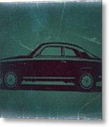 Alfa Romeo Gtv Metal Print by Naxart Studio