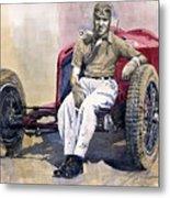 Alfa Romeo Monza Tazio Nuvolari 1932 Metal Print by Yuriy  Shevchuk