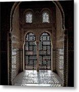 Alhambra Window Metal Print by Jane Rix
