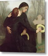 All Saints Day Metal Print by William Adolphe Bouguereau