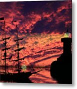 Almost Home Metal Print by Shane Bechler
