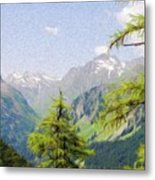 Alpine Altitude Metal Print by Jeff Kolker