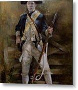 American Infantryman C.1777 Metal Print by Chris Collingwood