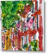 American Street Philadelphia Metal Print by Marilyn MacGregor