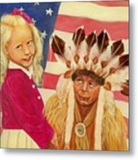 Americans New And Old Metal Print by Joni McPherson