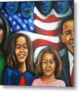 America's First Family Metal Print by Jan Gilmore