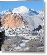 America's Mountain Metal Print by Eric Glaser