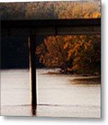 Amish Autumn In The Villages Of Van Buren Metal Print by Leslie Heemsbergen