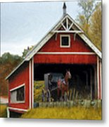 Amish Era Metal Print by Tom Griffithe