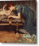 An Earthly Paradise Metal Print by Sir Lawrence Alma-Tadema