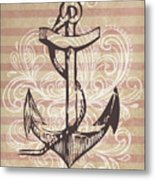 Anchor Metal Print by Adrienne Stiles