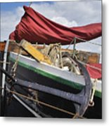 Anchors Up Metal Print by Robert Lacy