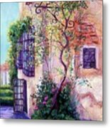 Andalucian Garden Metal Print by Candy Mayer