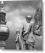 Angel In Berlin Metal Print by Marc Huebner