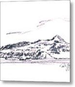 Angel Island From Sausalito Metal Print by Paul Gaj
