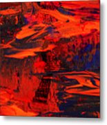 Another Land Metal Print by Patricia Motley