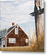 Another New England Sunrise Metal Print by Dominic White