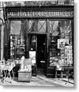 Antique Shop Paris France Metal Print by Gerry Walden