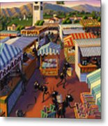Ants At The Hollywood Farmers Market Metal Print by Robin Moline