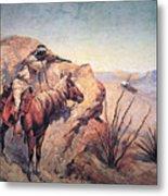 Apache Ambush Metal Print by Frederic Remington