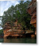 Apostle Islands National Lakeshore Metal Print by Larry Ricker
