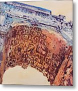 Arch Of Titus Two Metal Print by Jenny Armitage