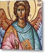 Archangel Michael Metal Print by Julia Bridget Hayes