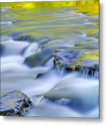 Argen River Metal Print by Silke Magino