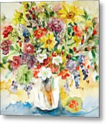 Arrangement IIi Metal Print by Ingrid Dohm
