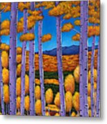 Aspen Country II Metal Print by Johnathan Harris