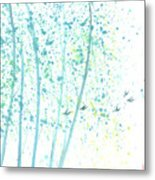 Aspen Forest Metal Print by Mui-Joo Wee