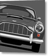 Aston Martin Db5 Metal Print by Michael Tompsett