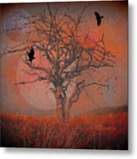 at Dusk Metal Print by Mimulux patricia no