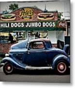 At Peter's Metal Print by Perry Webster