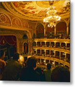 At The Budapest Opera House Metal Print by Madeline Ellis