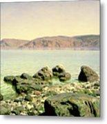 At The Sea Of Galilee Metal Print by Vasilij Dmitrievich Polenov
