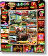 Atx Restaraunt Montage Metal Print by Andrew Nourse