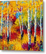 Autumn Dreams Metal Print by Marion Rose