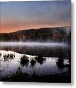 Autumn Fog Metal Print by William Carroll