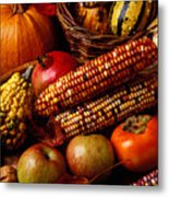 Autumn Harvest  Metal Print by Garry Gay