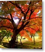 Autumn Leaves 2 Metal Print by Roberto Alamino