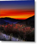 Autumn Sunrise Metal Print by William Carroll