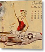 Aviation 1953 Metal Print by Cinema Photography