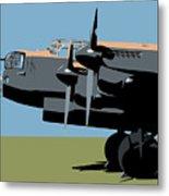 Avro Lancaster Bomber Metal Print by Michael Tompsett