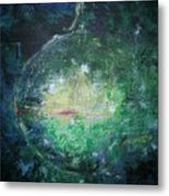 Awakening Abstract II Metal Print by Lizzy Forrester
