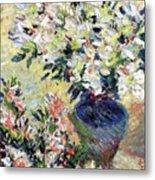 Azaleas Metal Print by Claude Monet