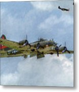B-17 Flying Fortress Bomber  Metal Print by Randy Steele