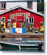 Bailey Island Lobster Pound Metal Print by Susan Cole Kelly