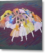 Ballet Dancers Metal Print by Rae  Smith PSC