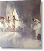 Ballet Studio  Metal Print by Peter Miller